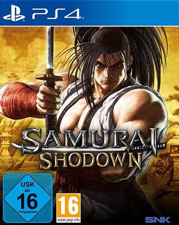 JOGO PS4 - SAMURAI SHODOWN