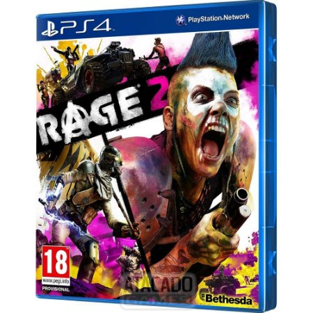JOGO PS4 RAGE 2 - PLAYSTATION 4