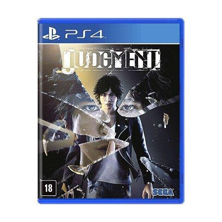 JOGO PS4 JUDGMENT - PLAYSTATION 4