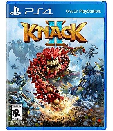 JOGO PS4 KNACK 2 - PLAYSTATION