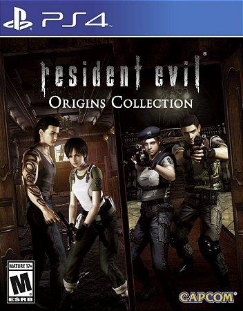 JOGO PS4 RESIDENT EVIL ORIGINS COLLECTION