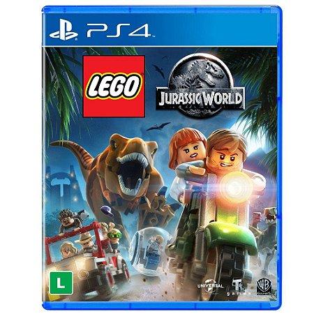 JOGO PS4 LEGO JURASSIC WORLD