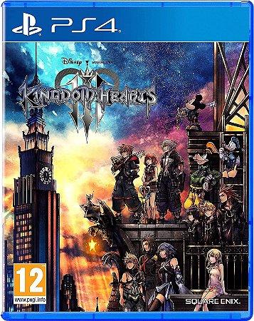 JOGO PS4 KINGDOM HEARTS 3