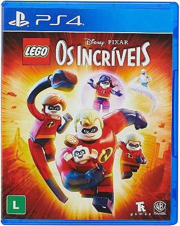 JOGO PS4 LEGO OS INCRIVEIS