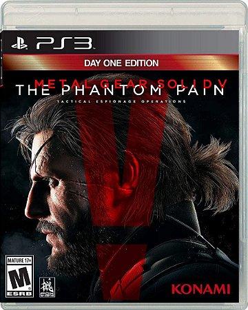 PS3 METAL GEAR SOLID V PHANTOM PAIN