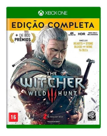 XBOX ONE THE WITCHER 3 WILD HUNT COMPLETE EDITION