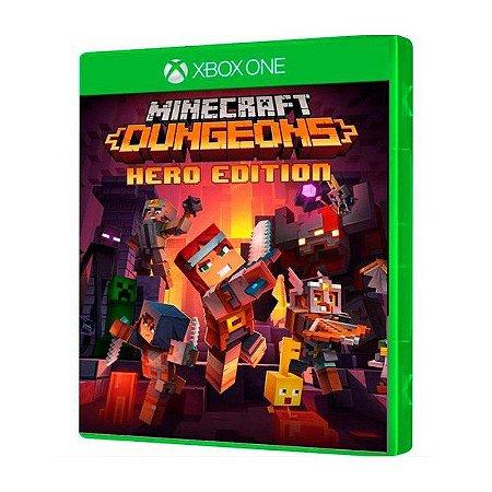 JOGO XBOX ONE MINECRAFT DUNGEONS HERO EDITION