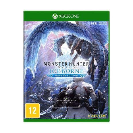 JOGO XBOX ONE MONSTER HUNTER WORLD ICEBORNE M/EDITION