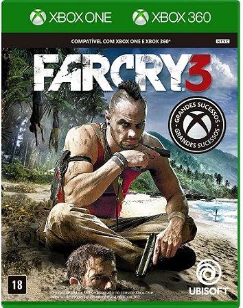 JOGO XBOX 360/ONE FARCRY 3