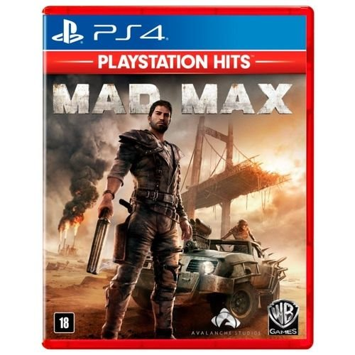 JOGO PS4 MAD MAX