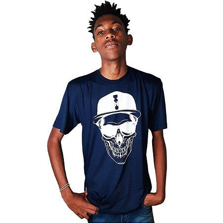 Camiseta estampada - Caveira Rapper