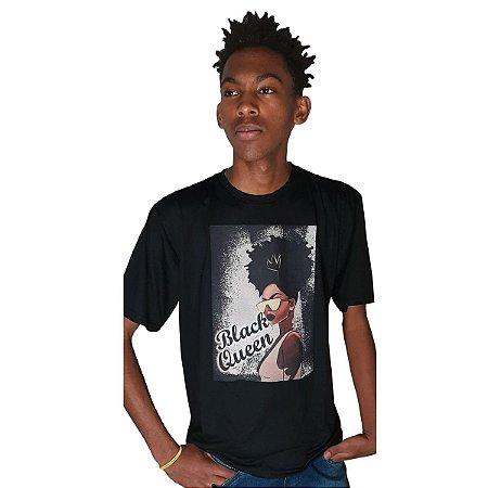 Camiseta estampada - Black Queen