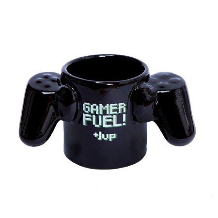 Caneca Geek - Gamer Fuel Limitada- 3d - 450ml