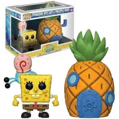 Funko Pop! Bob Esponja Gary & Abacaxi (Pineapple)