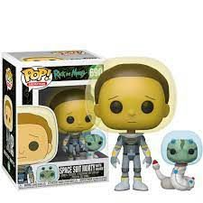 Funko POP! Space Suit Morty with Snake