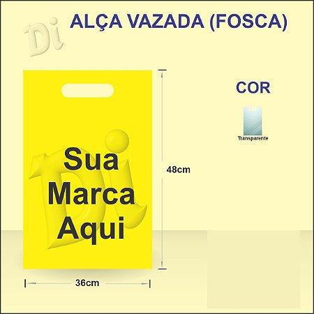 Alça vazada 36x48x0,10 - TRANSPARENTE FOSCO