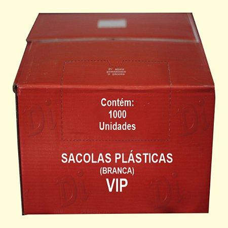 Sacola plástica 30x40cm branca Cxa c/1000 unid