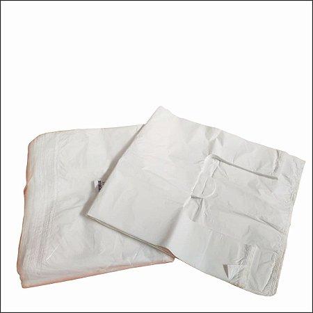 Sacola plástica 80x100x0,05 branca c/100 unid