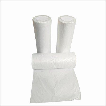 Bobina plástica saco 25x35 -3Lt  fosca reforçada