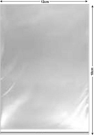 Saco PP cristal 12x18x0,05 c/1000