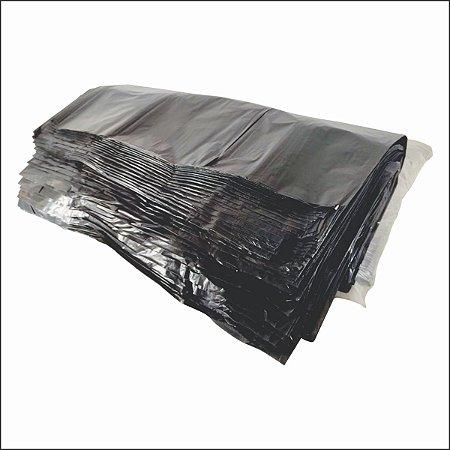 Saco lixo 60Lt  60x70cm - Preto 100 unid