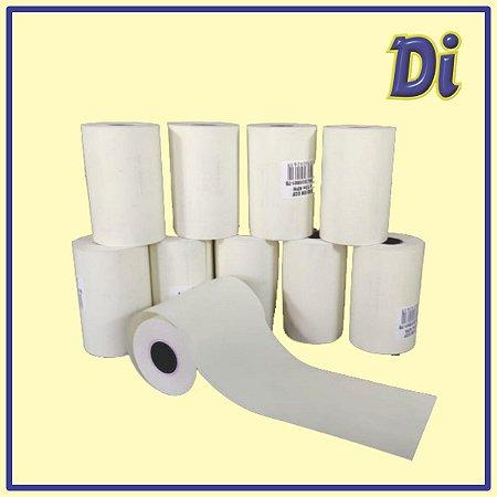 Bobina papel térmico 57mm x 15m - Pt 4 unid
