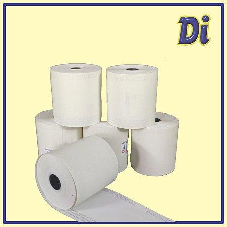 Bobina papel térmico 57mm x 40m - Pt 4 unid