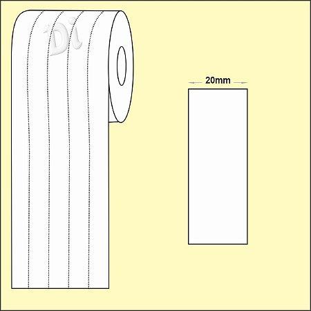 NYLON Resinado para composição etiqueta roupa 20mm