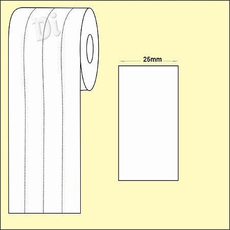NYLON Resinado para composição etiqueta roupa 25mm