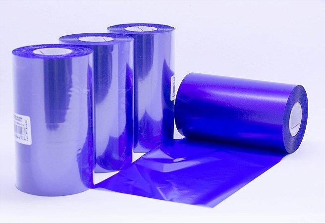 Ribbon misto cêra-resina 110mm x 300m. Colorido. Unidade.