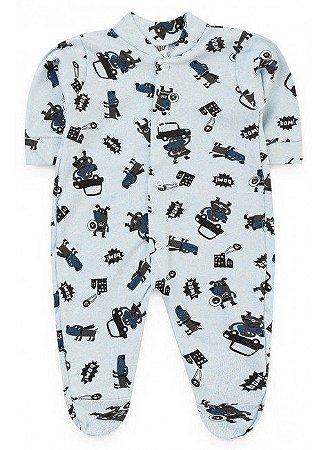 Macacão Baby- Azul