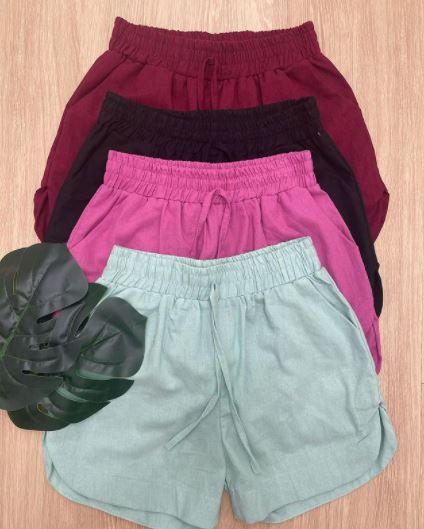 Shorts de Linho