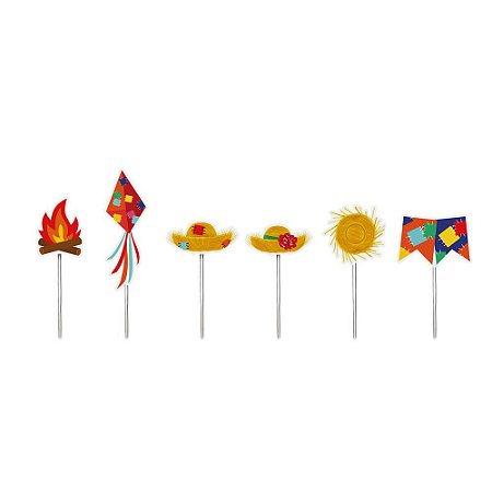 Pick Decorativo Festa Junina -