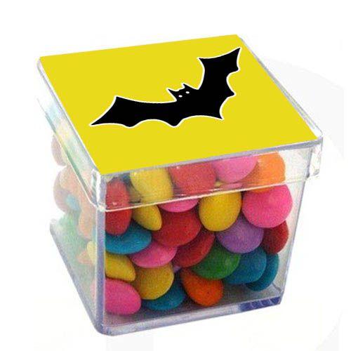 Caixinha Acrílica para Lembrancinha Morcego