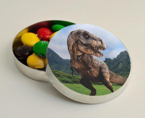 Latinha para Lembrancinha Dinossauro - 1 un