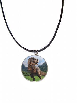 Colar para Lembrancinha Dinossauro