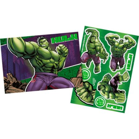 Kit Decorativo Hulk