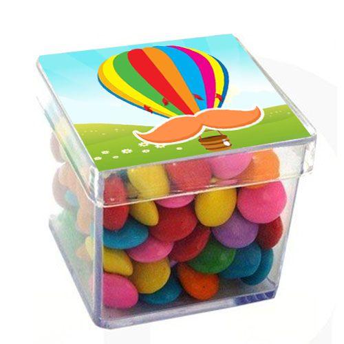 Caixinha Acrílica para Lembrancinha Balão - 1 un