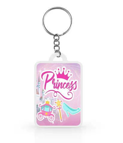 Chaveiro para Lembrancinhas Princesas - 1 unidade