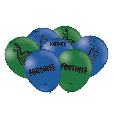 Balão Fortnite - 25 unidades