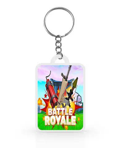 Chaveiro para Lembrancinhas Battle Royale - 1 unidade