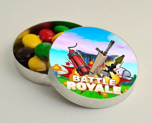 Latinha para Lembrancinha Battle Royale- 1 un