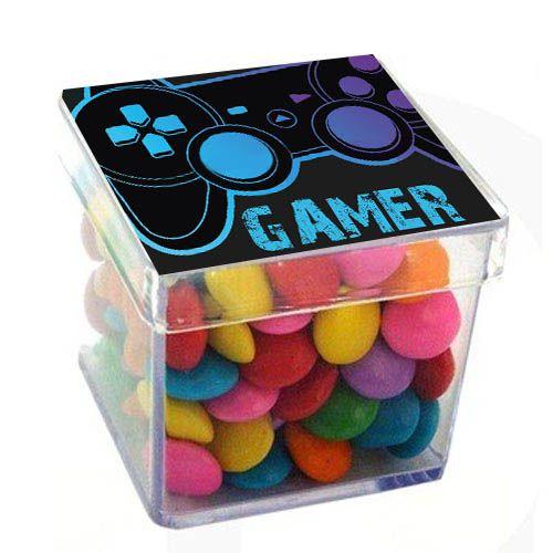 Caixinha Acrílica para Lembrancinha Gamer - 1 un