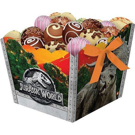 Cachepot de Festa Jurassic World - 8 unidades