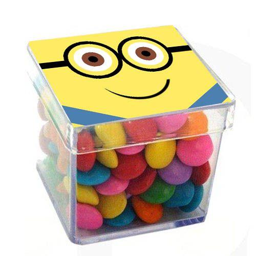 Caixinha Acrílica para Lembrancinha Óculos - 1 un