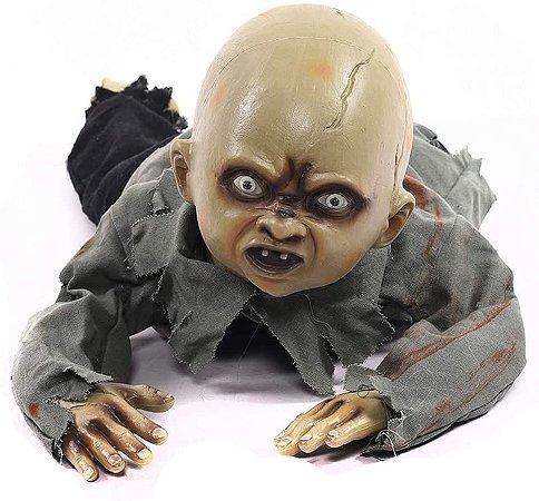 Boneco Bebê Rastejante