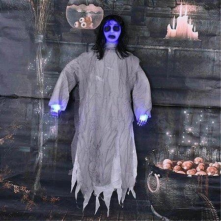 Boneca Eletrônica com Luz Azul