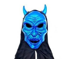 Máscara Chifres com Capuz