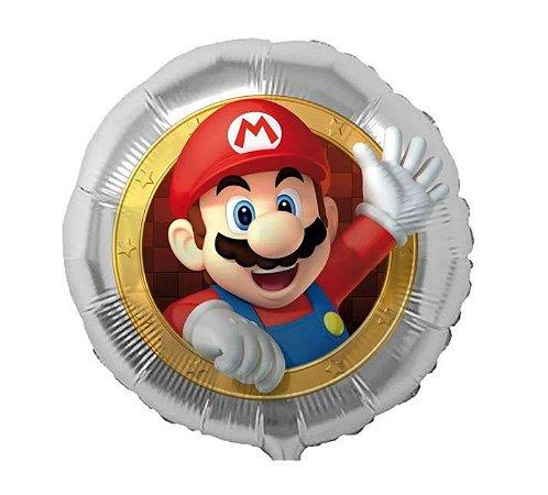 Balão Metalizado Mario