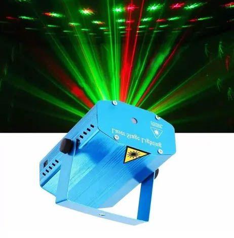 Mini Projetor Laser Holográfico Efeitos Luzes Especiais 3D